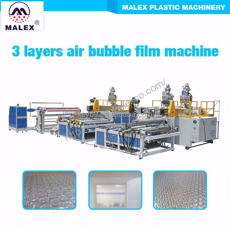 3 layers air bubble sheet making machine MX-W250T