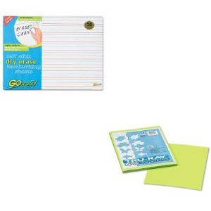 KITPAC103423PACASB8511LN - Value Kit - Pacon Tru-Ray Construction Paper (PAC103423) and Pacon GoWrite Dry Erase Handwriting Sheets (PACASB8511LN)