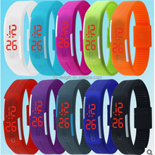2016 hot sale fashion led Wristwatch silicone LED watchs