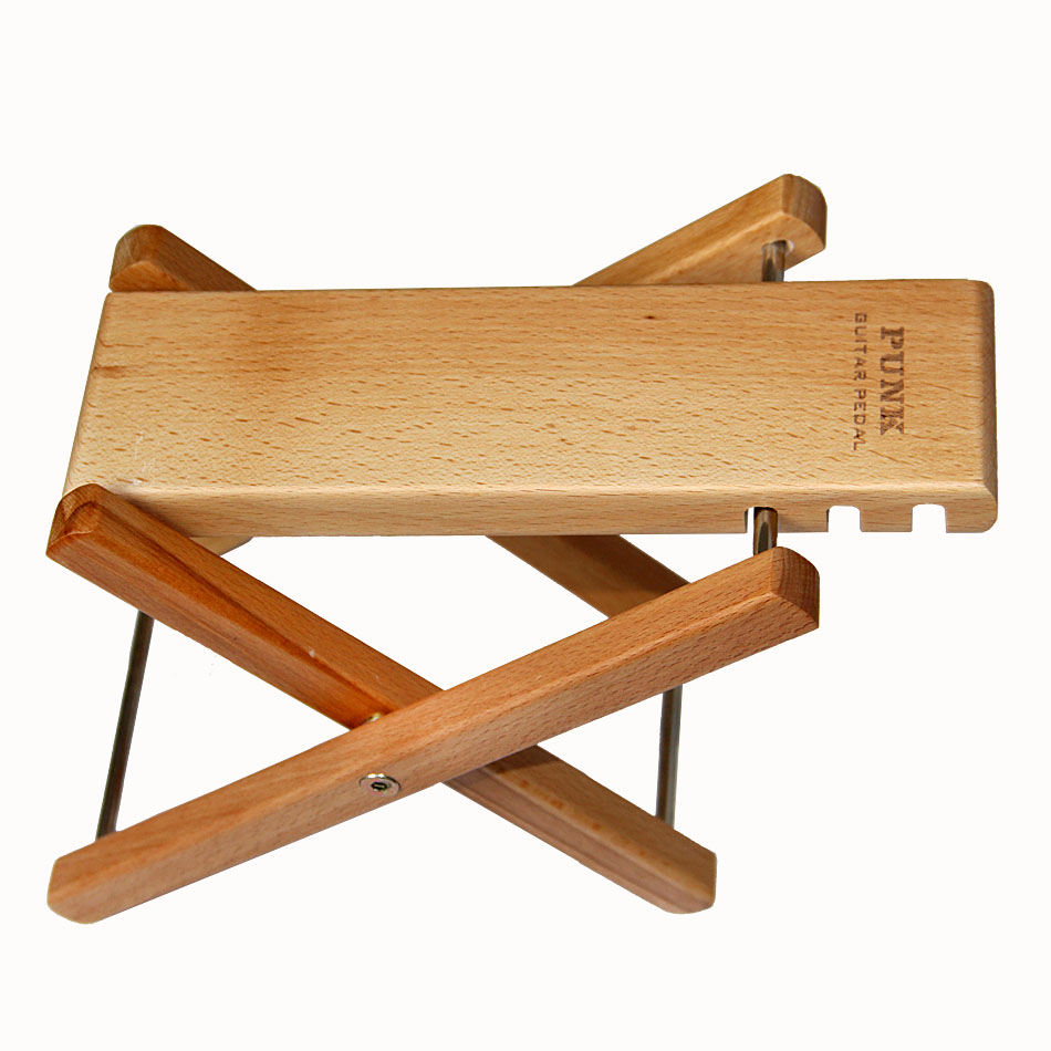guitar wood pedal convenient and practical guitar accessories foot wood stand in guitar parts. Black Bedroom Furniture Sets. Home Design Ideas