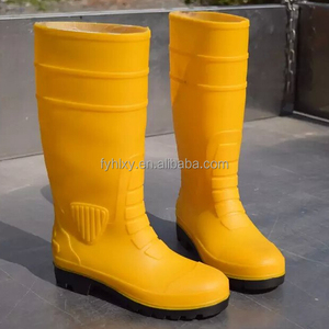 plastic rain boots yellow men cheap steel toe work boots