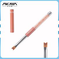 ANY Factory Wholesale Supply Nail Art Nylon Gel Nail Brush Acrylic Handle French Nail Brush