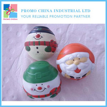 New Hot Promotional Santa Stress Ball For Christmas Holiday Gift