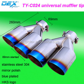 Auto Part Universal Sport Silencer Ler Exhaust Tip Mercedes Benz Tips Compeion For Cars