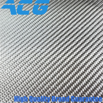 Silver Carbon Fiber Fabric electroplated glass fiber cloth