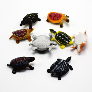 Plastic Bionic Turtle Toy For Empty Capsule