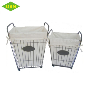 Wire Laundry Basket With Wheels Supplieranufacturers At Alibaba