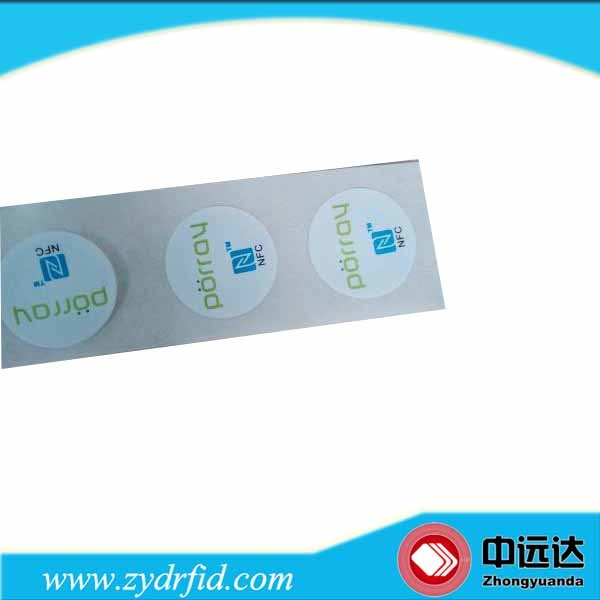 Custom school attendance rfid rapid eas label rtl 3104 library