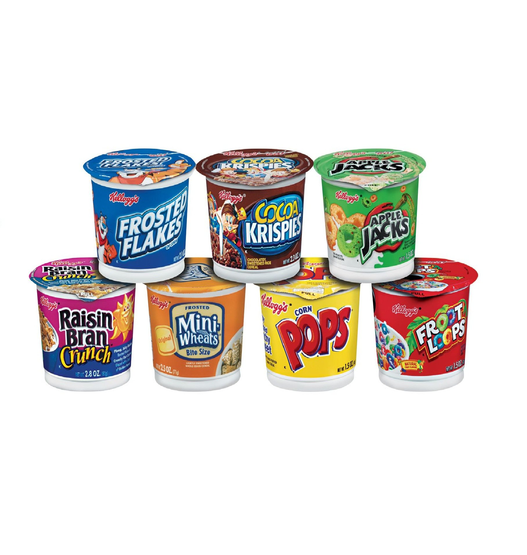 Kellogg's Favorites Single Serve Breakfast Cereal Cups Variety Pack, 60 Count