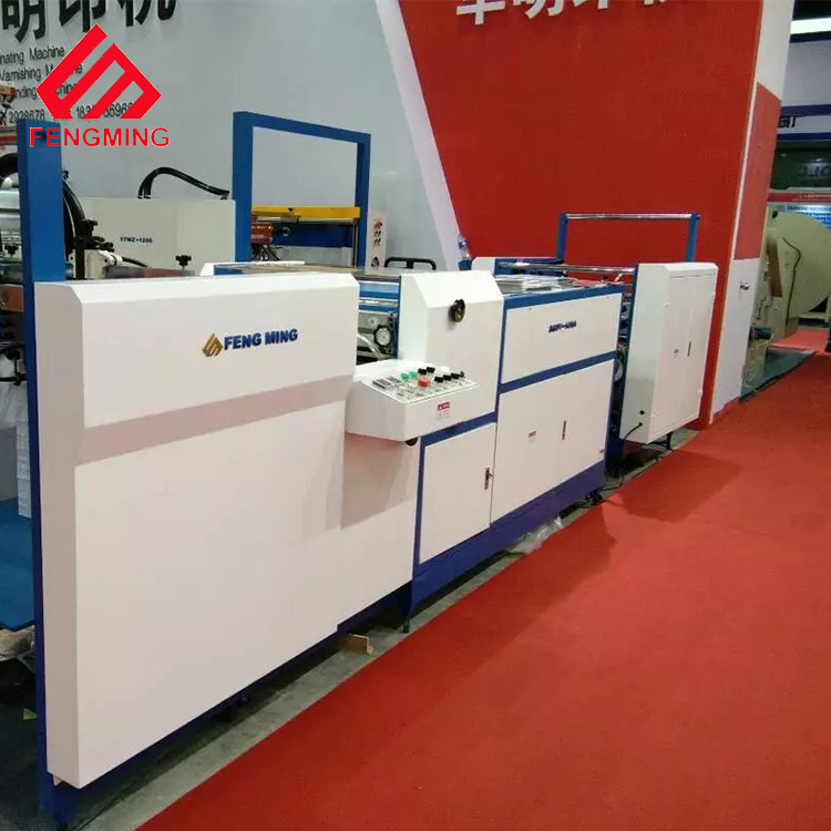 Latest Design SGUV-800B Automatic  Whole UV Varnish Machine  Water base Coating Machine Glazing Machine  with 800*1000mm