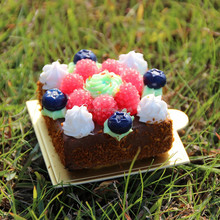 Eco-Friendly polymer clay DIY mini cake for gift/Yiwu sanqi craft factory