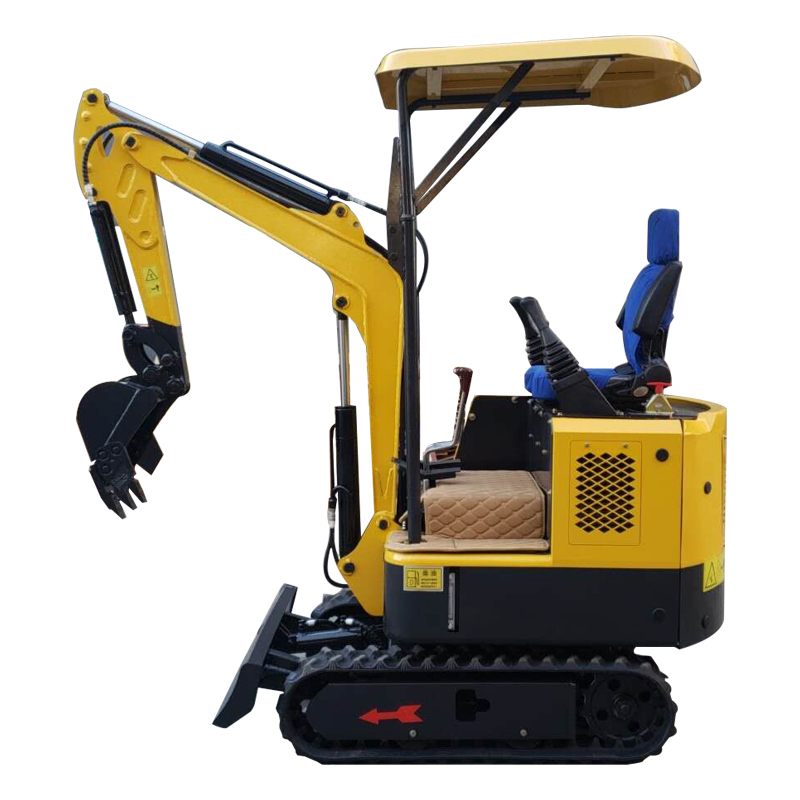 HH-15 mini bagger excavator machine rubber caterpillars digger use for farm