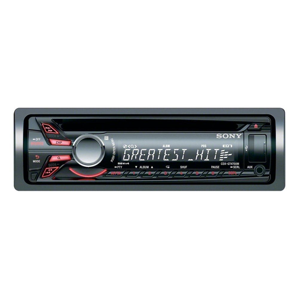 CDX-GT470UM CD/MP3/USB CAR RADIO