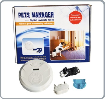 Pets Manager - Indoor Dog/ Cat Wireless Fence Pet Barrier ...