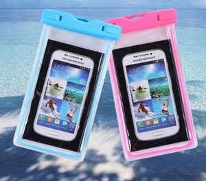 2018 Universal waterproof phone bag transparent touchable pouch beach Underwater phone bag case for phone 6/7 plus