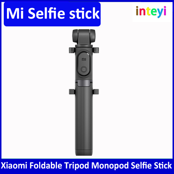 Original Xiaomi Foldable Tripod Selfie Stick Bluetooth With Wireless Button Shutter Selfie Stick For Smartphones Mi Selfiestick