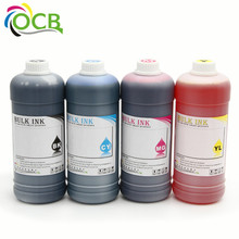 Ocbestjet reactive universal color 30ml components black dye ink for mutoh rj900x for epson l series digital textile printing