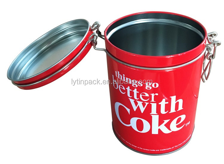 high quality airtight tin can