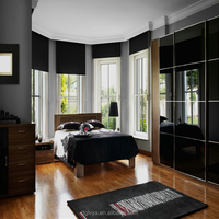 blackout thicker fabric roller blind shade for windows