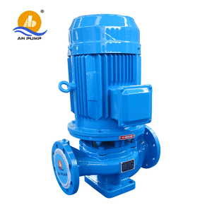 Direct Coupled Vertical Inline Pipeline Circulation Booster Water Pump