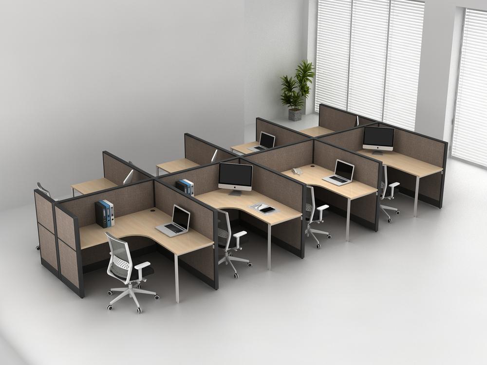 Flexible Modern Workstation Furniture Office Workstation