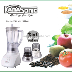 Automatic multi-function fruit juice maker kitchen cooking 3IN1 BLENDER WITH ONE GRINDER/MILL