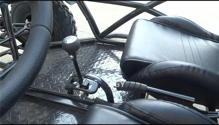 AGY adultos duas pessoas off road gasolina vão karts 200 cc