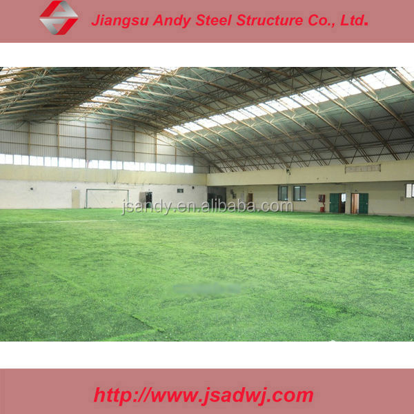 Large Span Arch Space Framing Sports Centre Stadium Hall Roofing