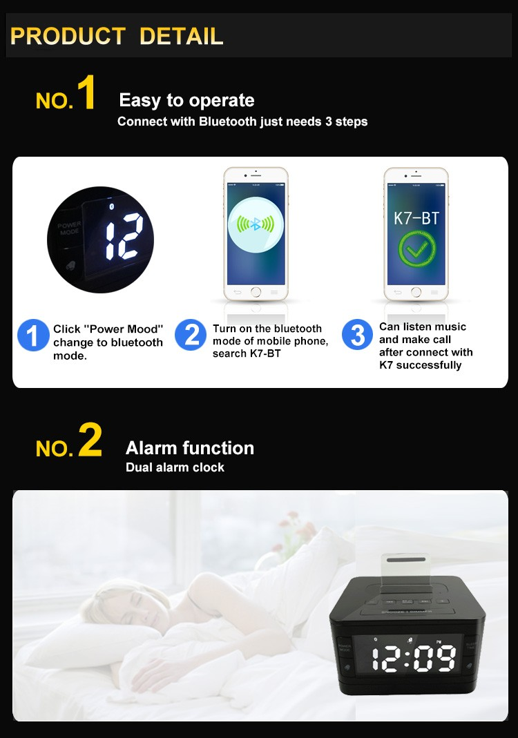 new portable super bass Bluetooth speaker with handsfree