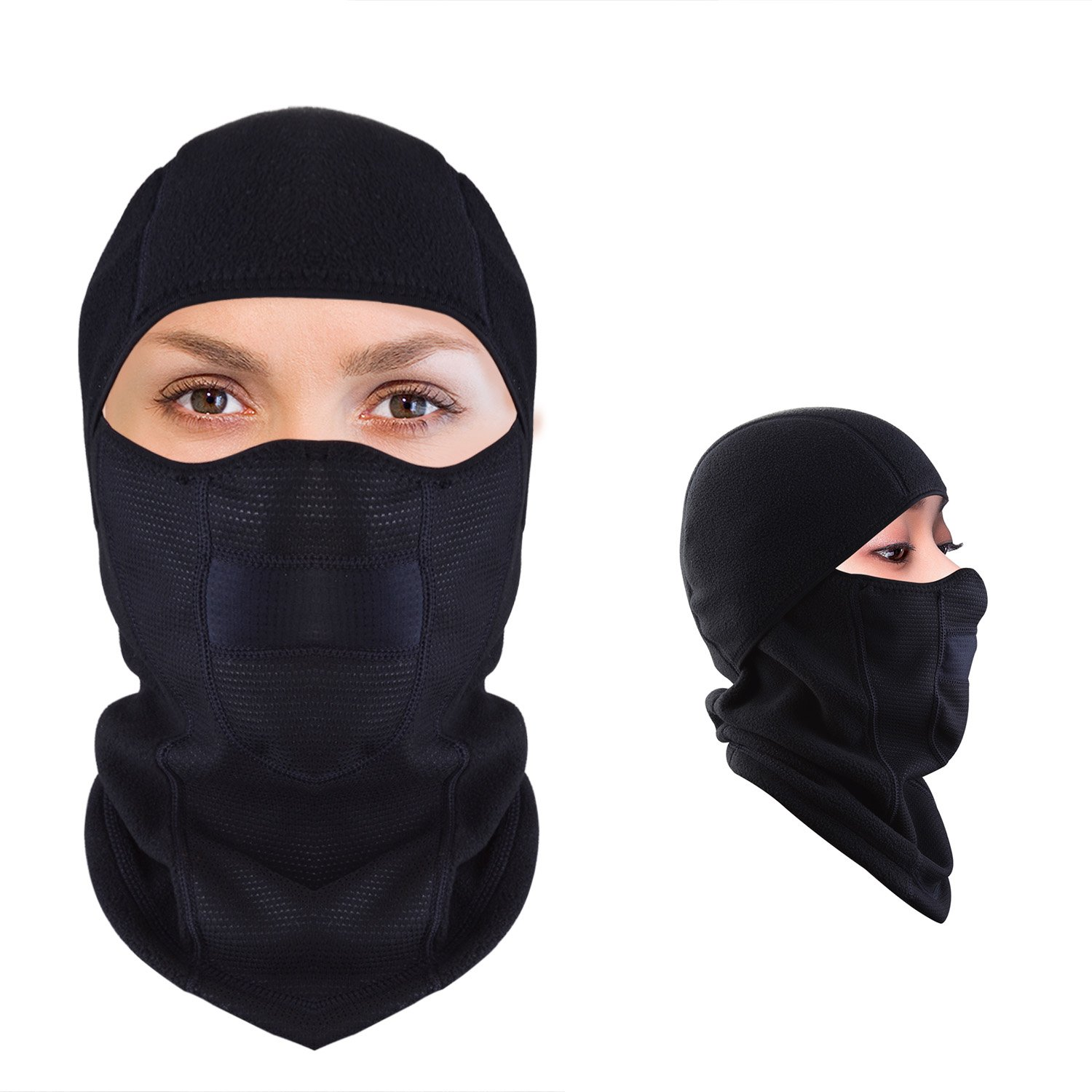 Get Quotations · JMFONE Balaclava Ski Mask Windproof Full Face Mask and  Neck Warmer Cold Weather Winter Motorcycle Running 71c24546f1
