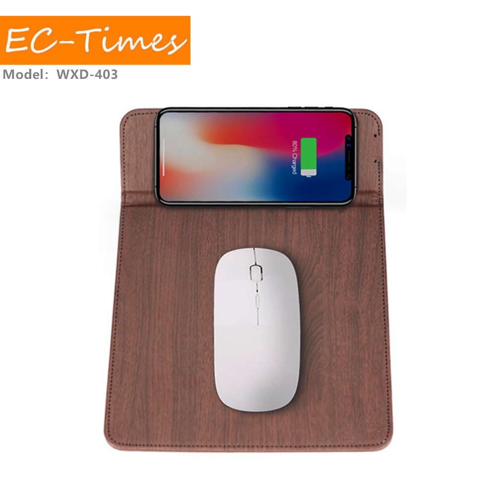 Factory Wholesale Price Mouse Pad Wireless Charger Micro Usb Qi Wireless Charger