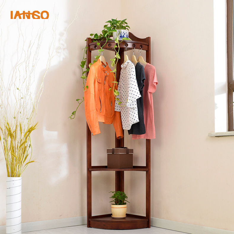 2017 Hotsales Modern Fashion Solid Wood Clothes Stand Coat Racks