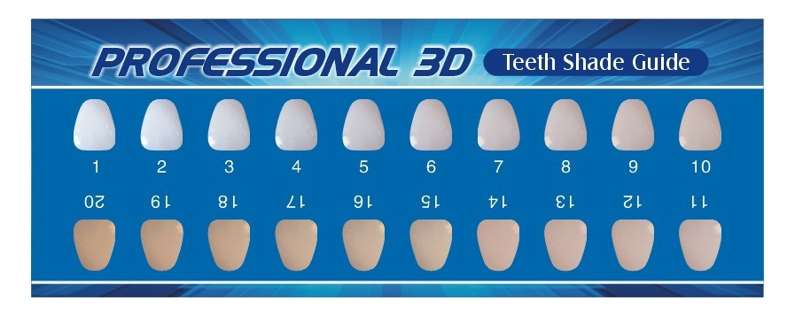 photograph relating to Tooth Shade Chart Printable identify Enamel Coloration 3 Comparable Key phrases Strategies - Teeth Colour 3