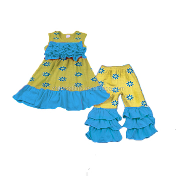 2018 Summer Baby Clothes Set With Good Price For Baby Wear Kids Girl