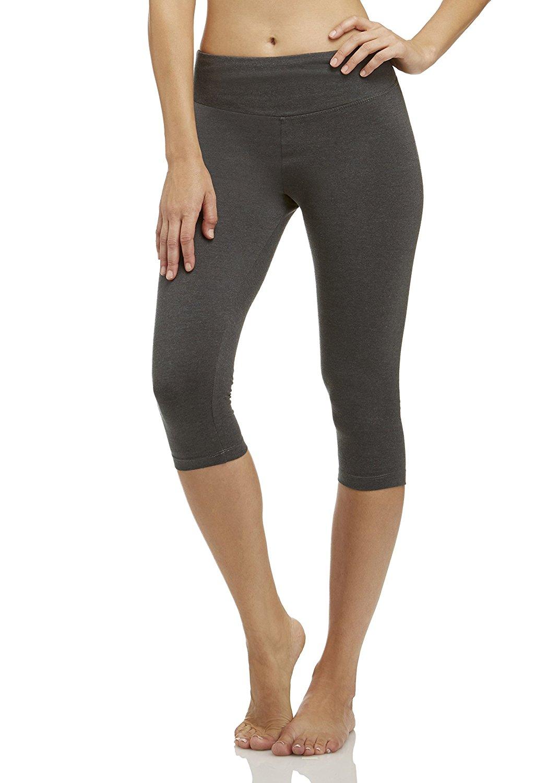 39e66b563f536 Get Quotations · Marika Women's Carrie Tummy Control Capri Leggings