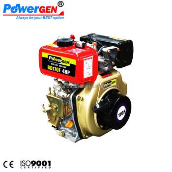 Best Price Powergen Air Cooled Single Cylinder Diesel 4hp Engine