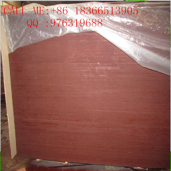 two-step molding technology film faced plywood for concrete form use