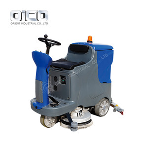 marble ride on scrubber floor cleaning scrubber