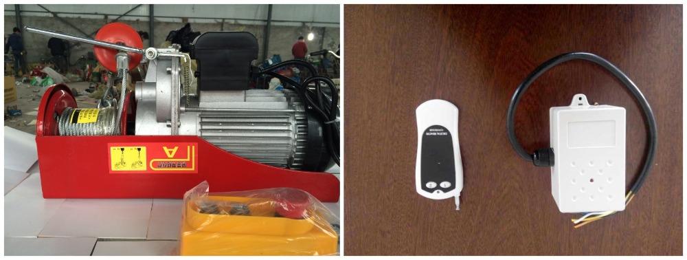 Gru telecomando senza fili verricello elettrico 220v buy for Paranco elettrico telecomando senza fili