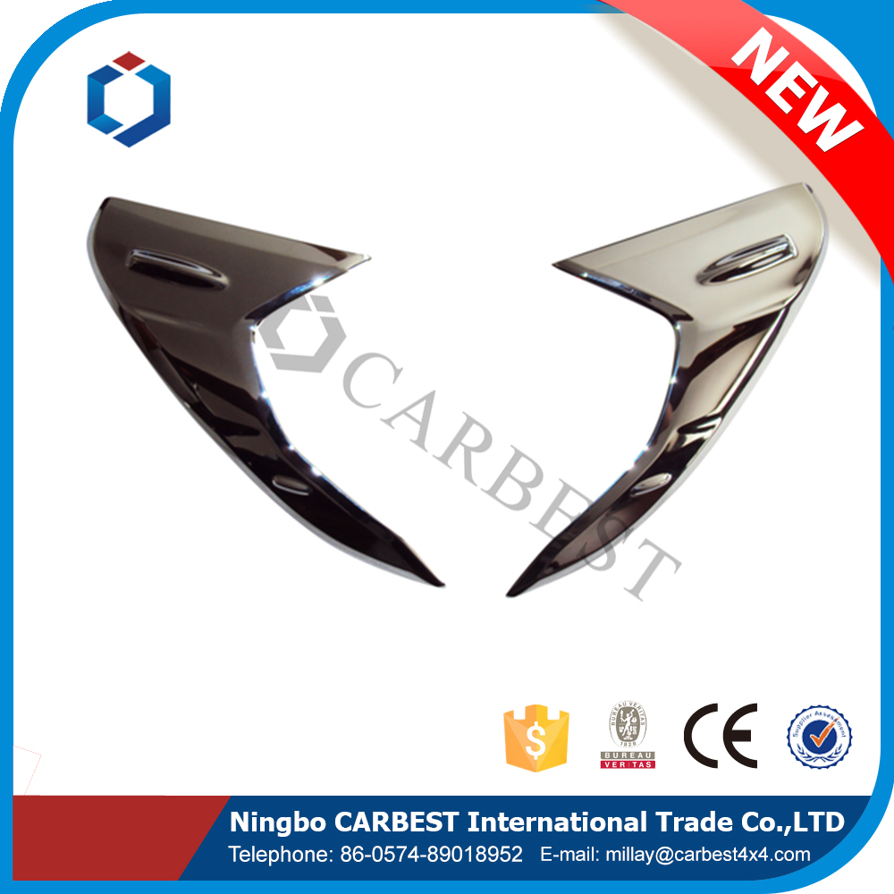 Best Selling ABS Hilux Revo Head Lamp Cover for Toyota Vigo 2015