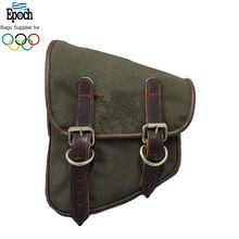 Epoch wholesale 2018 canvas left side army creen saddle bag for bicycle