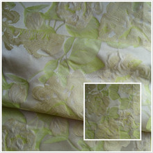 new fashion floral pattern jacquard yarn dyed brocade fabric for women garment
