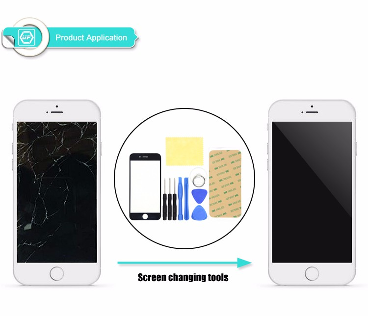 Replacement LCD Front Touch Screen Glass Outer Lens for Iphone6 plus