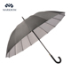 Chinese Supplier 21''*16k Sun Prevent Silver Coated Auto open Straight Umbrella 2018