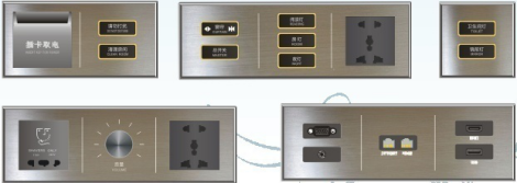 Orbita Kamar Tamu Hotel Controller Smart Switch Sistem