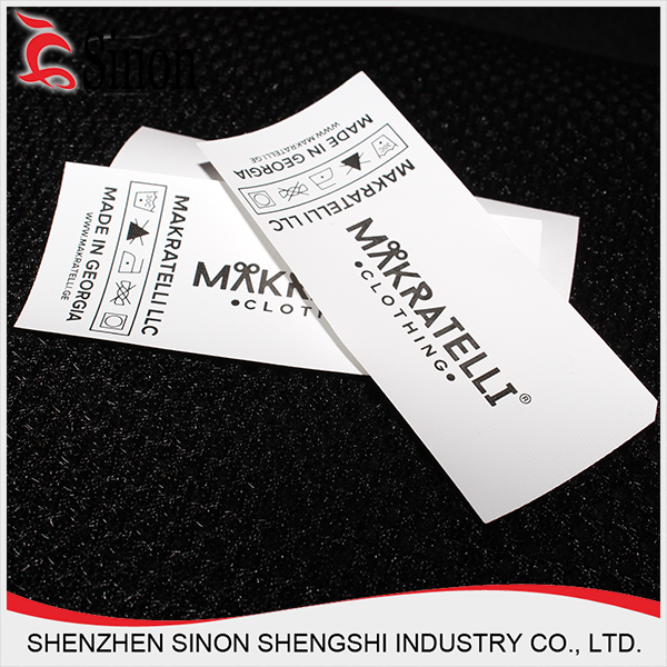 Customized Logo Brand Name Garment Accessories Clothing Labels Woven Label Tags Main For