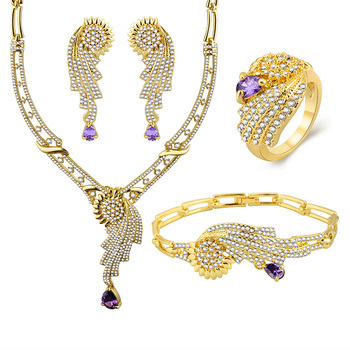 0e59a3cf60ee Promotional Gifts 2018 Gold Jewelry Rajwadi Necklace Set