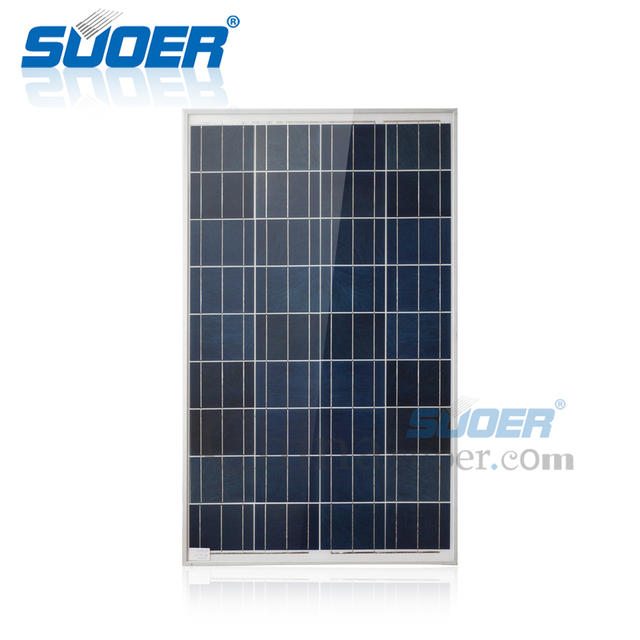 Suoer solar panels high efficiency polycrystalline cell 18v 100w sunpower solar panel
