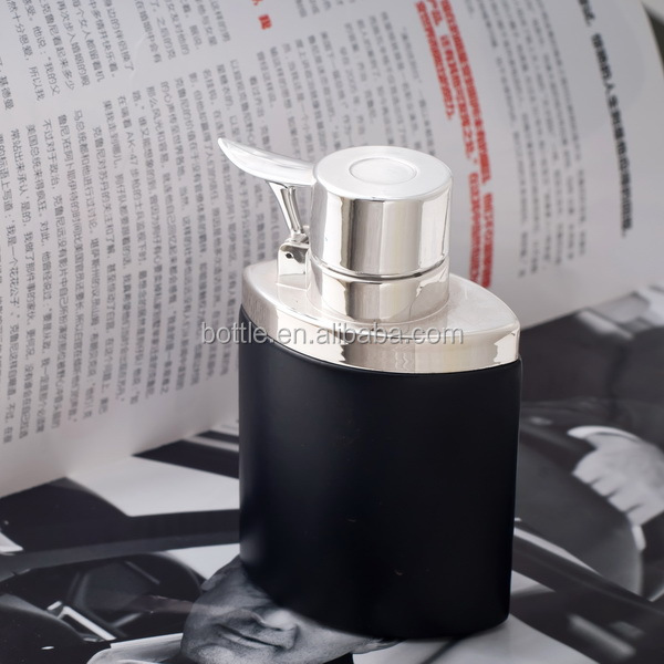 100ml schwarze spray-glasflasche herrenparfum