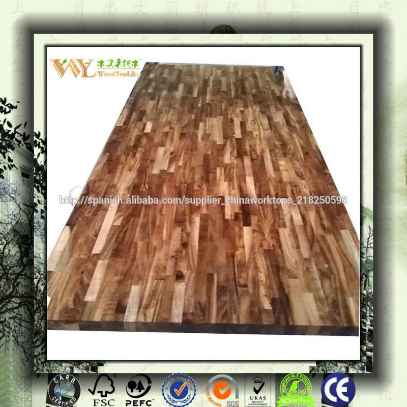 de precio muy bajo acacia encimeras de madera maciza